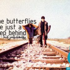 دانلود فیلم پروانه ها بدرقه می كنند